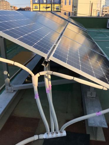輻射熱・ソーラーパネル
